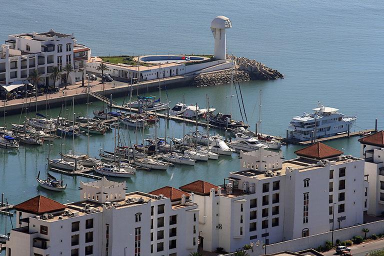 Chaînes pour pontons Marina d'Agadir