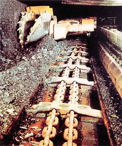 Chaîne pour convoyeur de mines