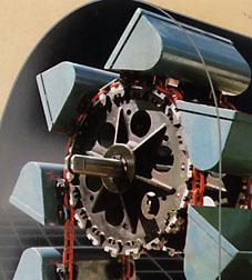 Chaîne de transmission industrielle